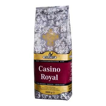 بسته دانه قهوه منتور مدل Casino Royal مقدار  1000 گرم