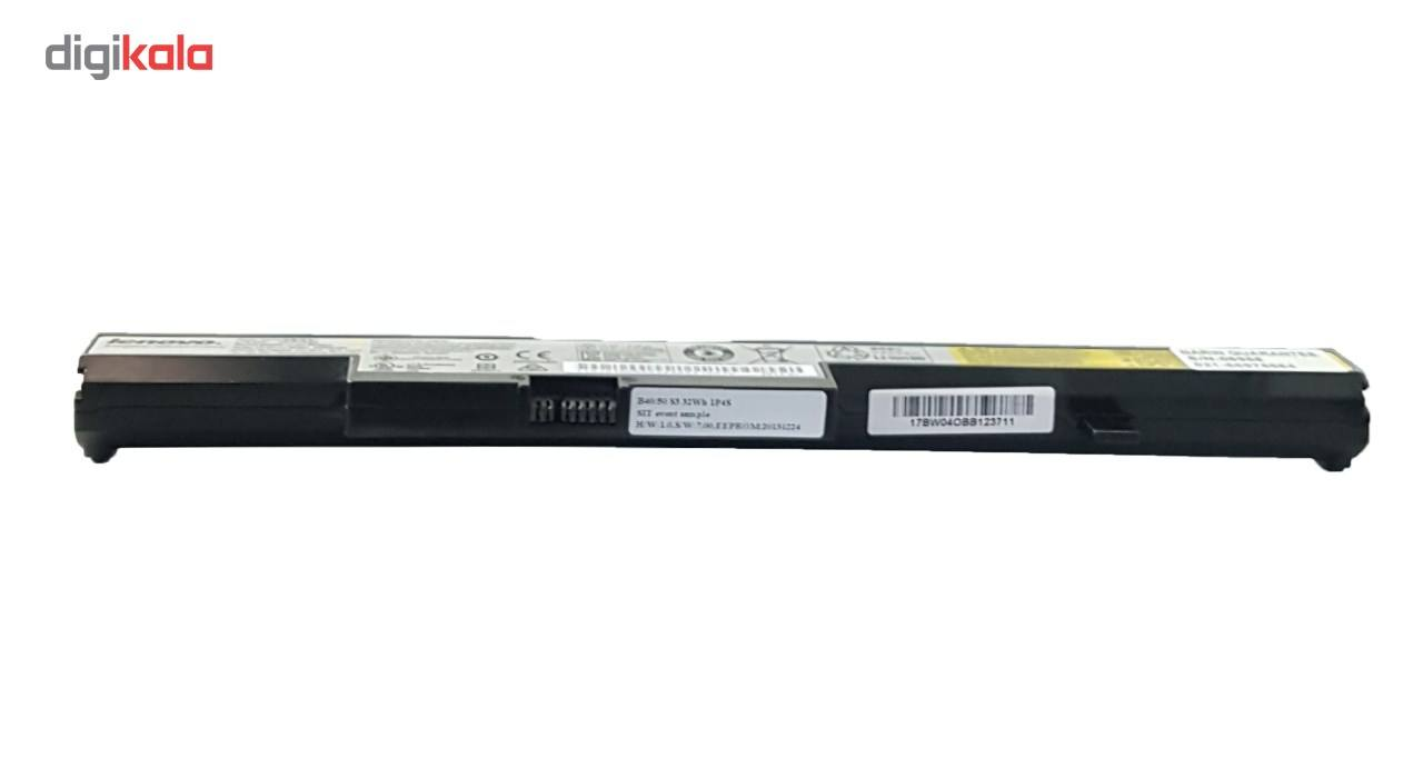 باتری 4 سلولی مدل b50-70 مناسب برای لپ تاپ لنوو main 1 3