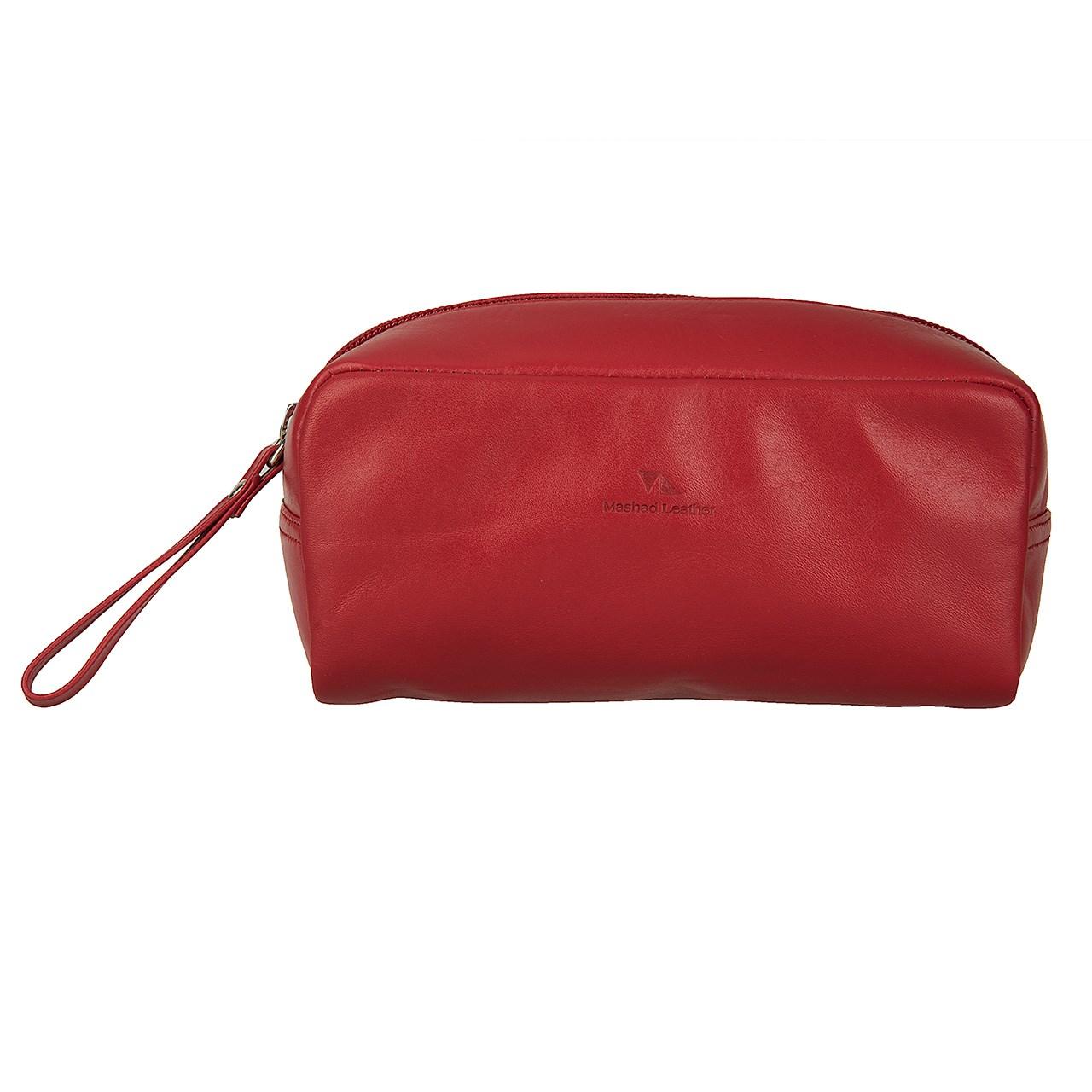 کیف لوازم آرایش چرم مشهد مدل L0177
