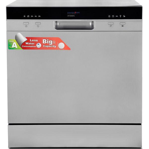 ماشین ظرفشویی رومیزی پاکشوما مدل DTP80960PS1