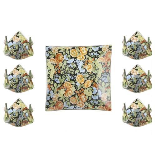 مجموعه ظروف هفت سین شیشه ای گالری سیلیس کد 180064