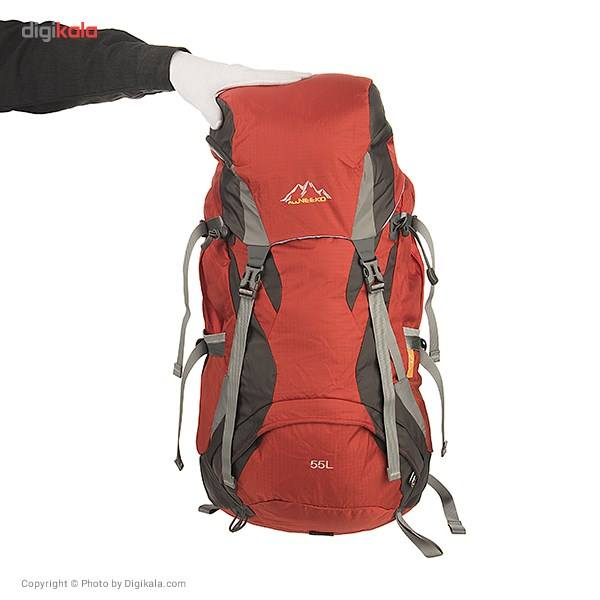 کوله پشتی کوهنوردی 55 لیتری آل نیکو مدل 9635 main 1 6