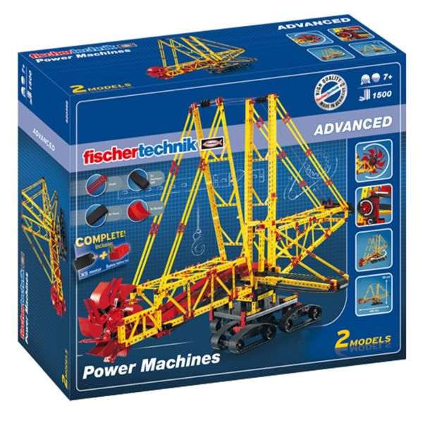 ساختنی فیشر تکنیک مدل Power Machines 520398