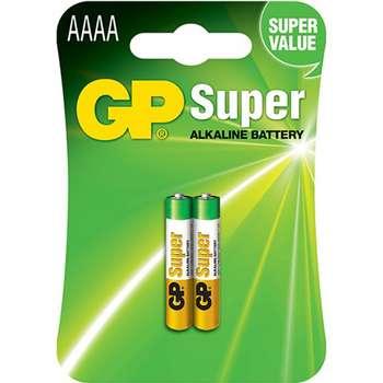 باتری سایز AAAA جی پی مدل Super Alkaline برای قلم Surface- بسته 2 عددی