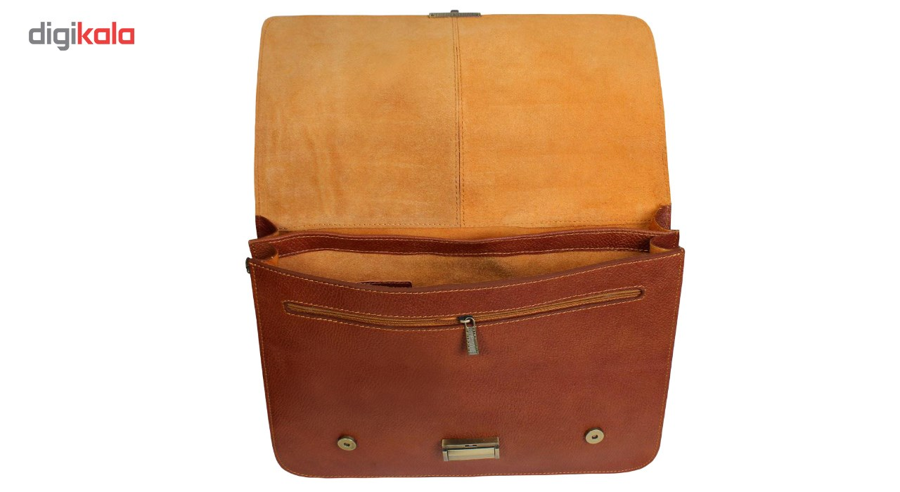 CHARMNAB natural leather office bag, code 100