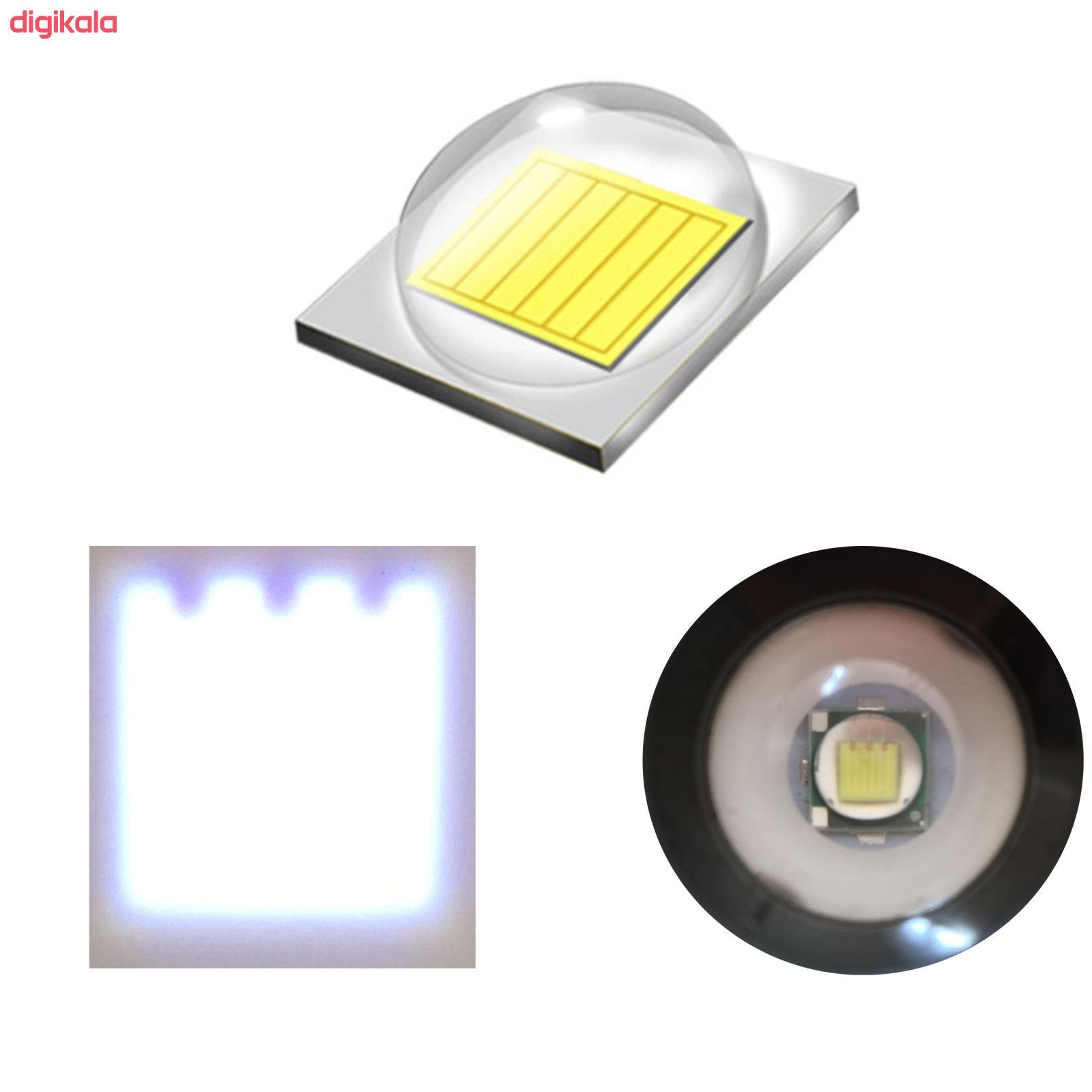 چراغ قوه دستی اسمال سان مدل ZY-1001 main 1 2