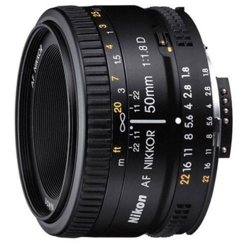 لنز نیکون مدل 50mm F/1.8 AF D