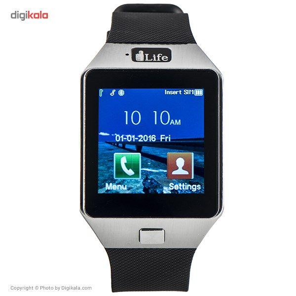 ساعت هوشمند آی لایف مدل Zed Watch C Black main 1 2