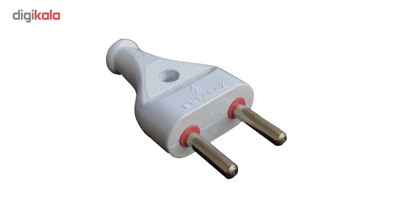دوشاخه برق فراز بسته 2 عددی main 1 2