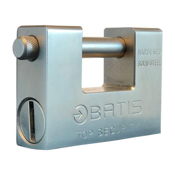 قفل کتابی باتیس مدل BA80006 سایز 94 میلی متر