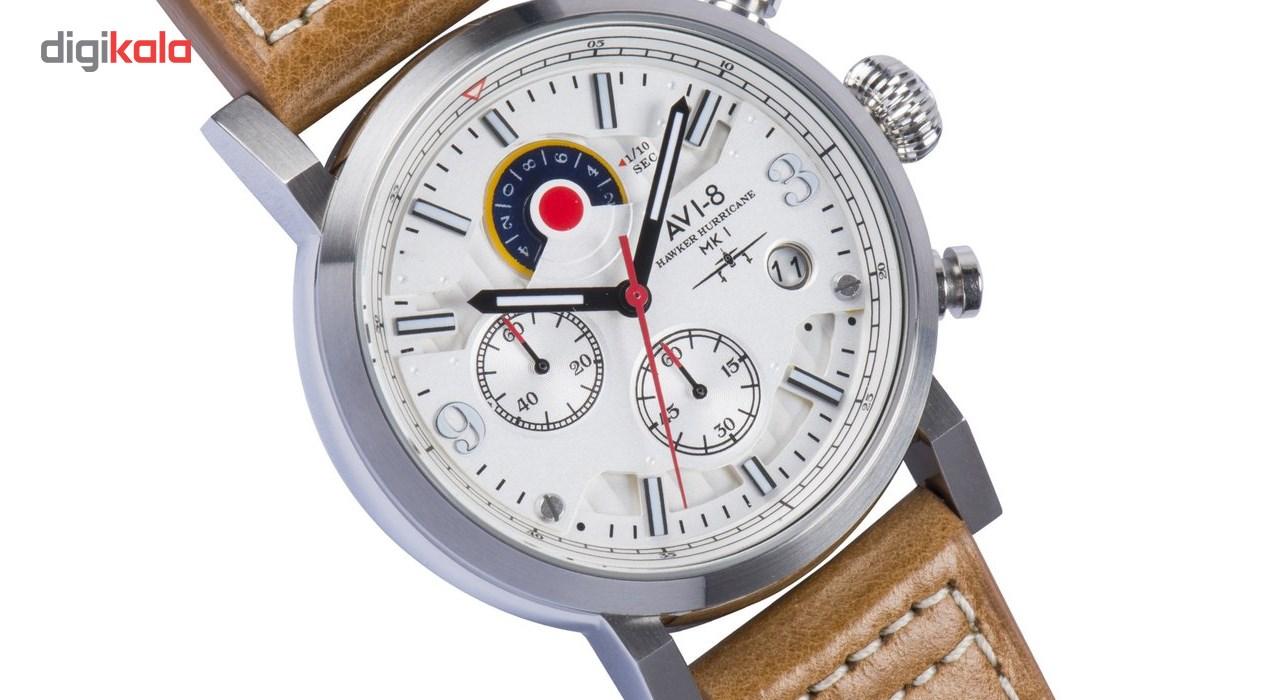 ساعت مچی عقربه ای مردانه ای وی-8 مدل AV-4041-01
