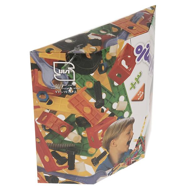 ساختنی فکر آذین مدل هزار سازه باکس 85 قطعه