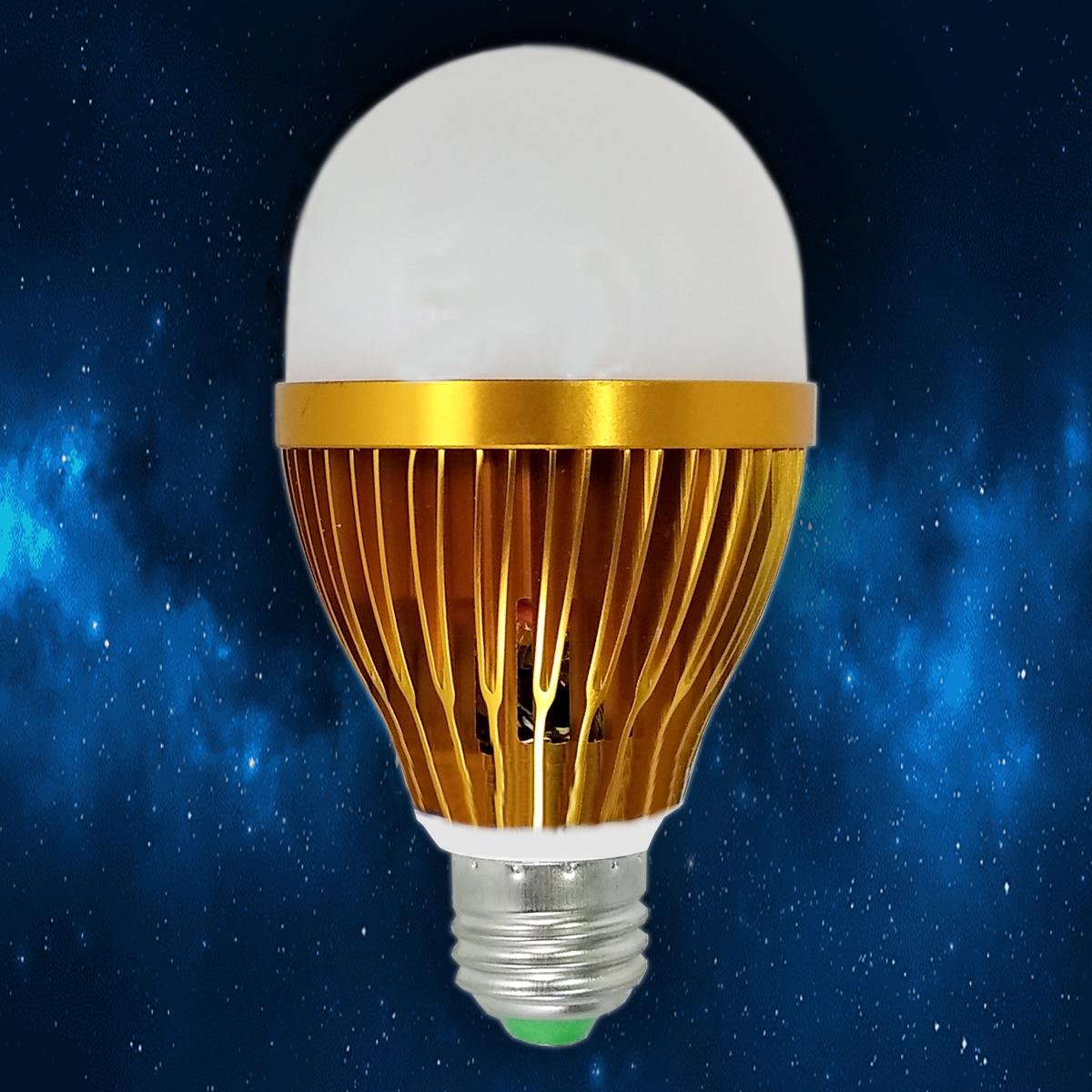 لامپ 9 وات رشد گیاه لایت ایران مدل GROW پایه E27
