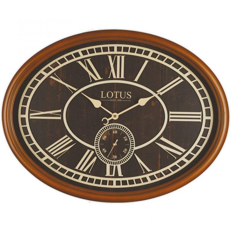 ساعت دیواری لوتوس مدل Milton 483