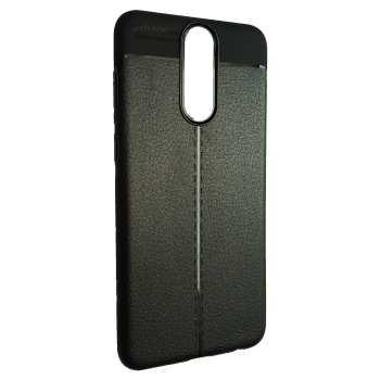 کاور ژله ای طرح چرم مناسب برای گوشی موبایل هواوی  mate 10 lite