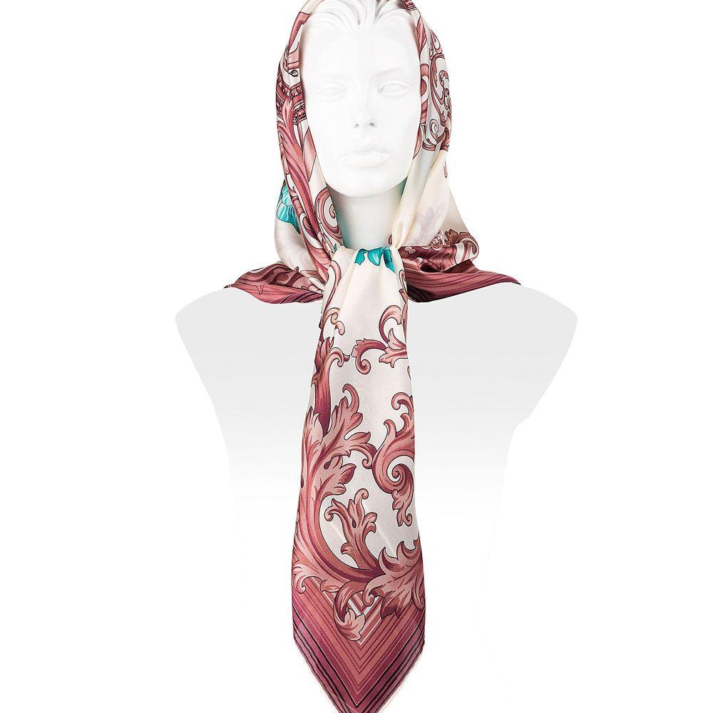 روسری ابریشمی زنانه - رزتی