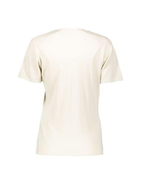 تی شرت ویسکوز زنانه - کرم قهوه اي - 2
