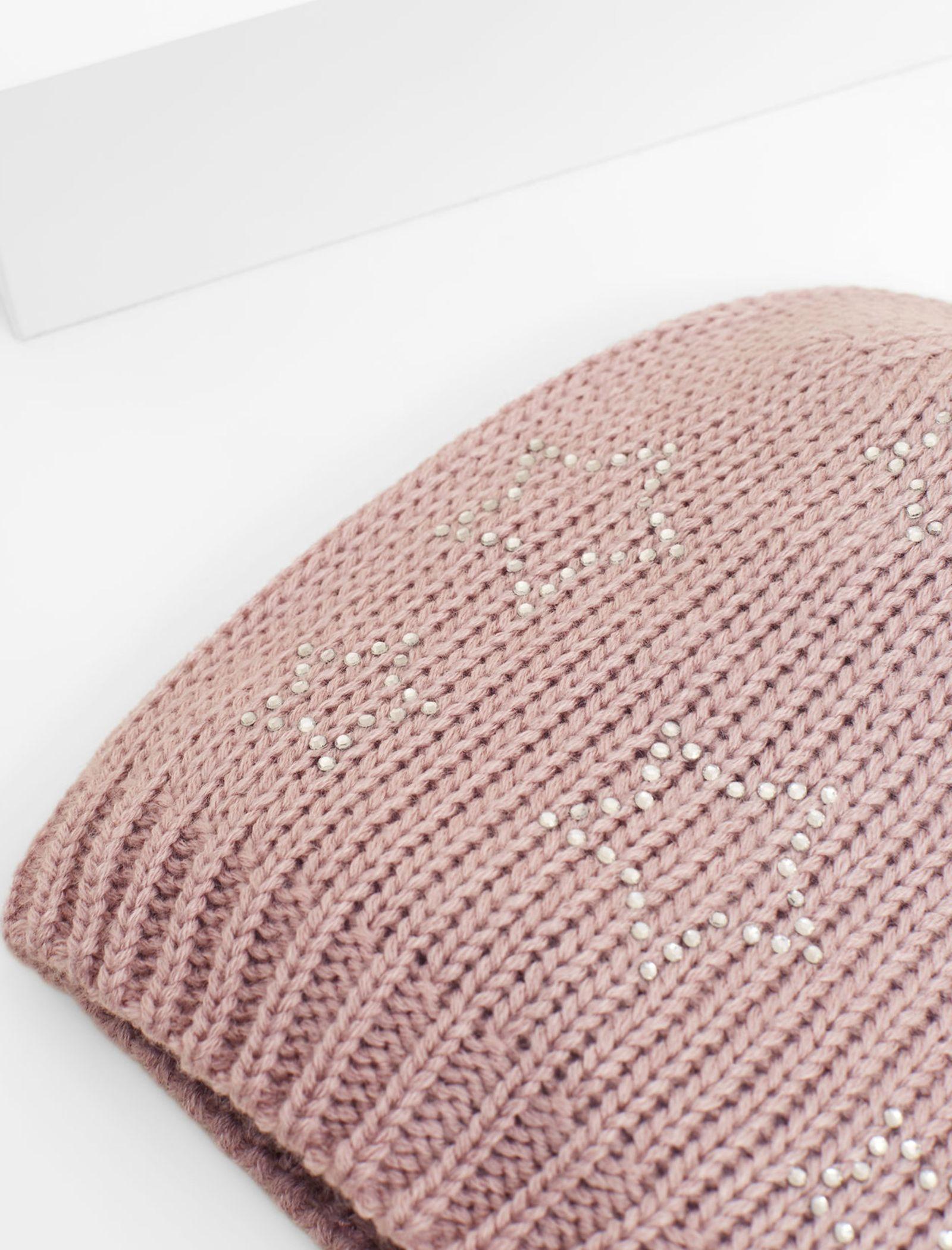کلاه زمستانی دخترانه - مانگو - صورتي - 2