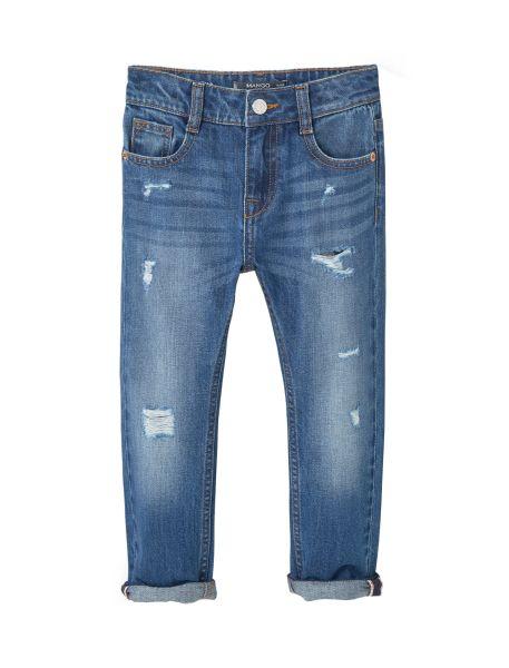 شلوار جین دخترانه مانگو مدل 73063598