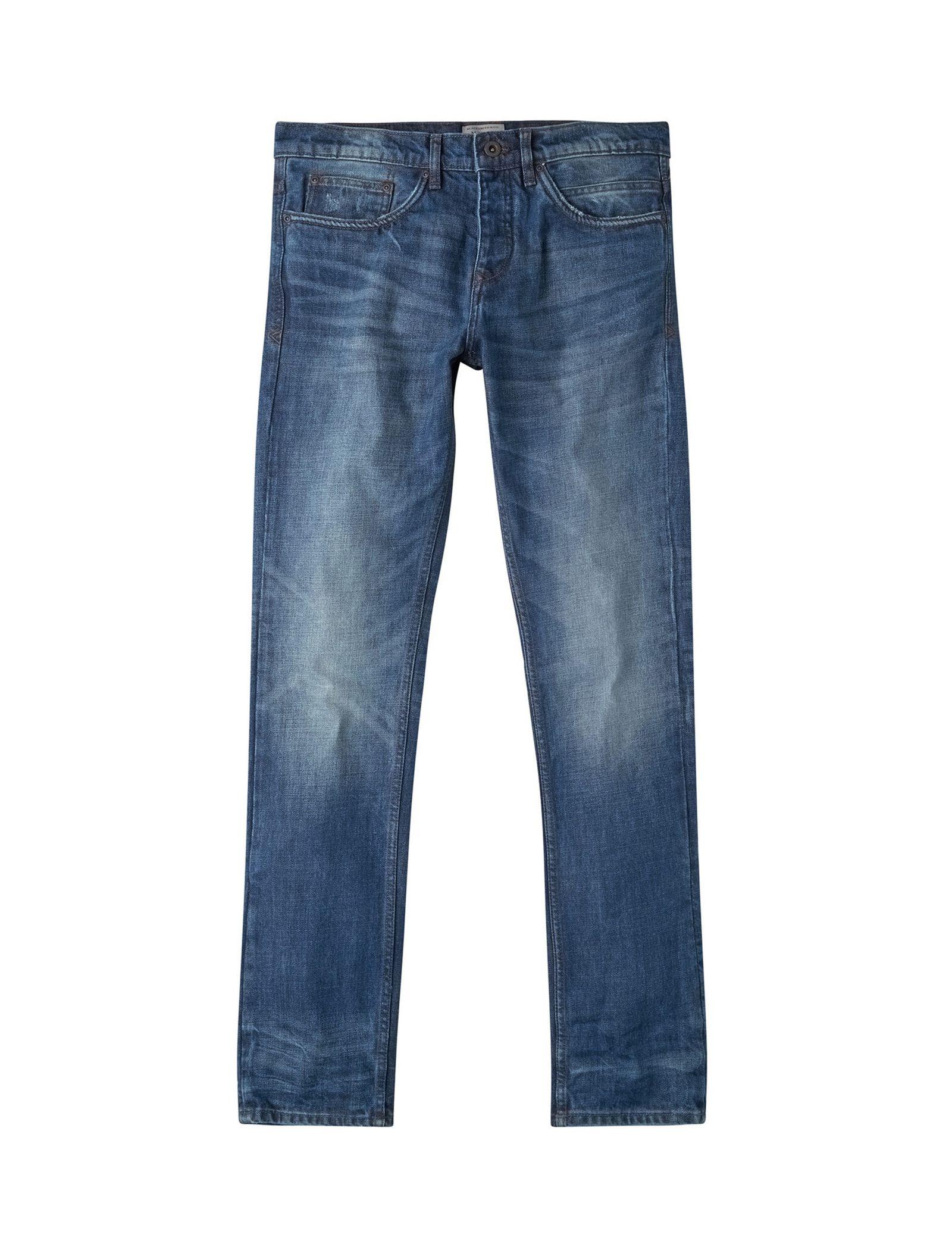 شلوار جین جذب مردانه - مانگو - آبي روشن - 1