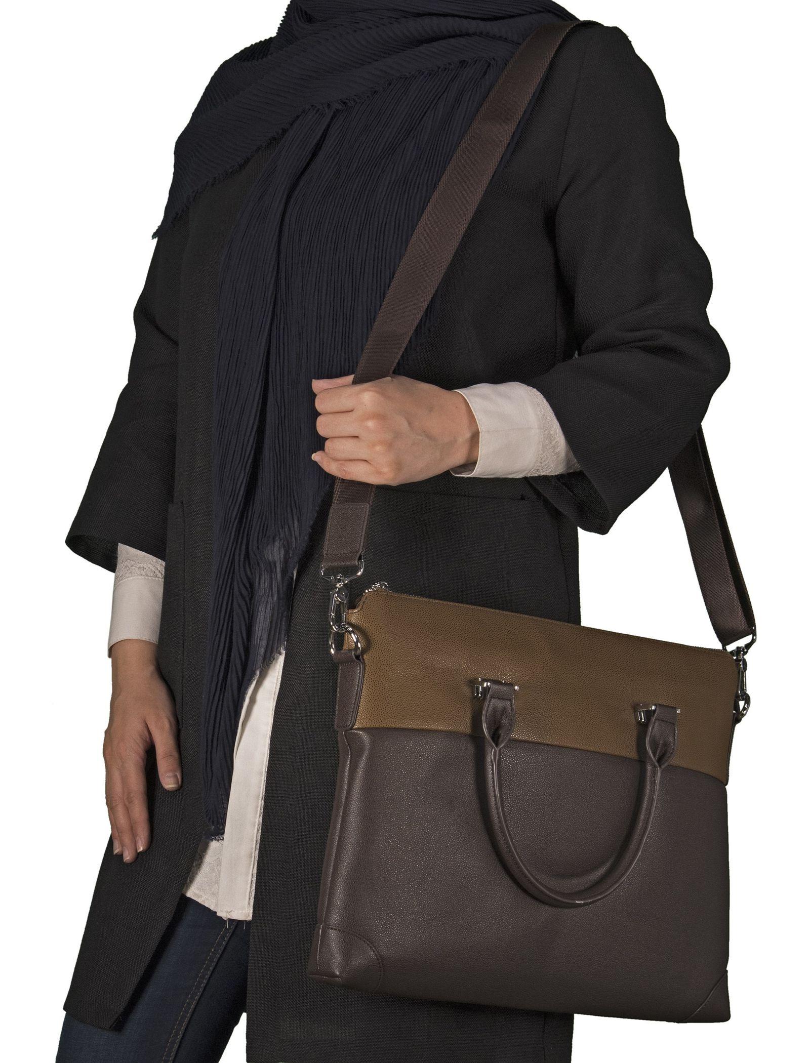 کیف دستی روزمره زنانه - باتا - قهوه اي - 7