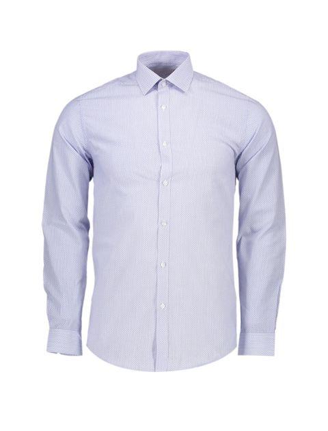 پیراهن رسمی مردانه - آبي روشن - 1