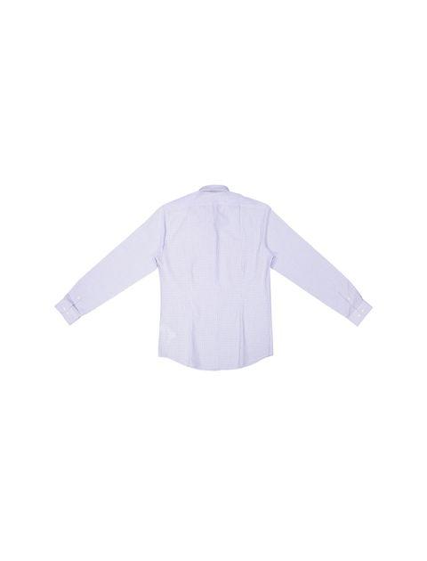 پیراهن رسمی مردانه - آبي روشن - 5