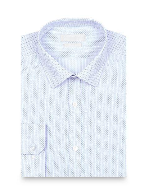 پیراهن رسمی مردانه - آبي روشن - 6