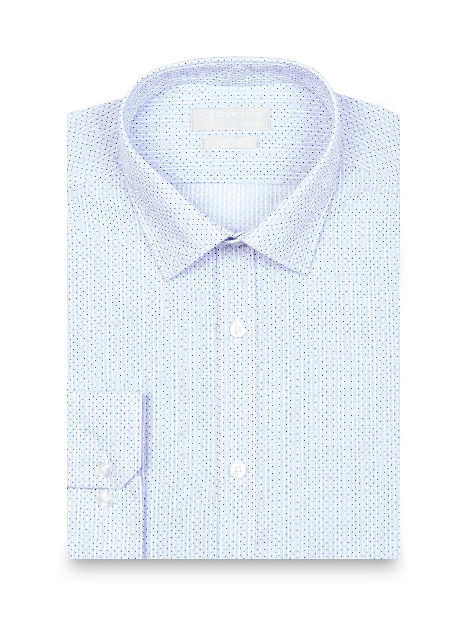 پیراهن رسمی مردانه - رد هرینگ - آبي روشن - 6