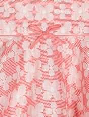 پیراهن میدی دخترانه - صورتي - 3
