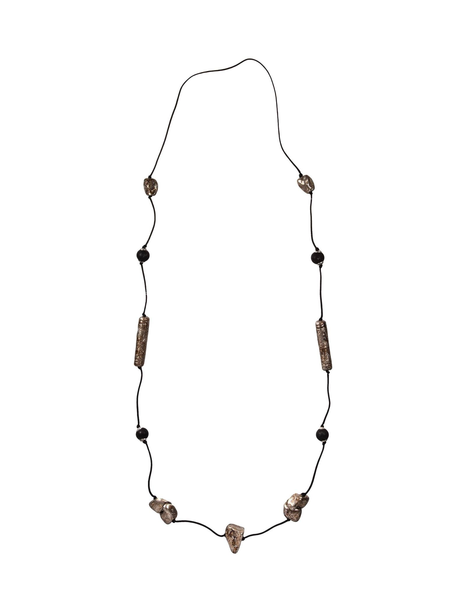 گردنبند زنانه - پونت روما - مشکي - 1