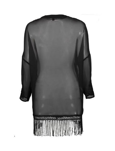رویه لباس زنانه - جنیفر - مشکي - 2