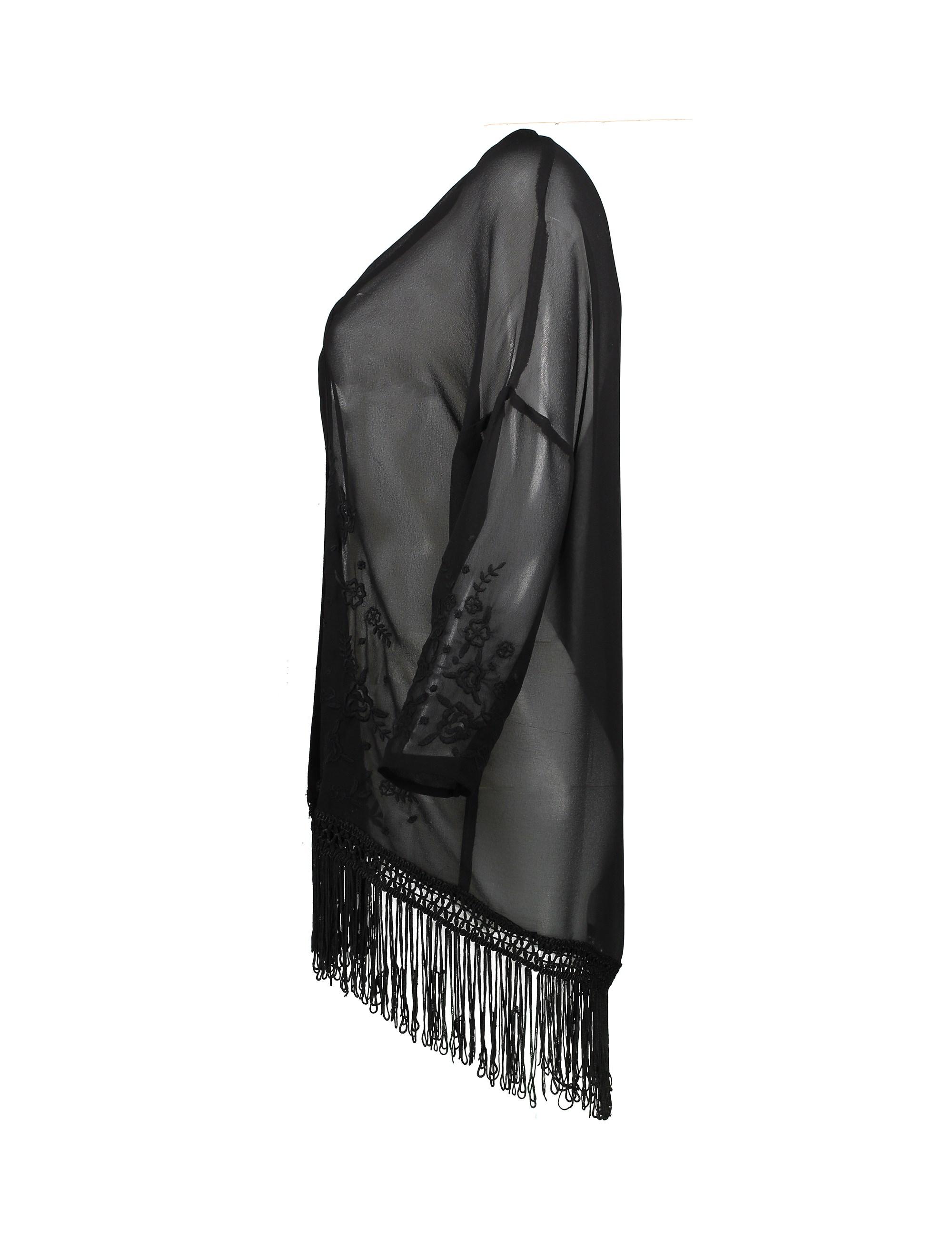 رویه لباس زنانه - جنیفر - مشکي - 3