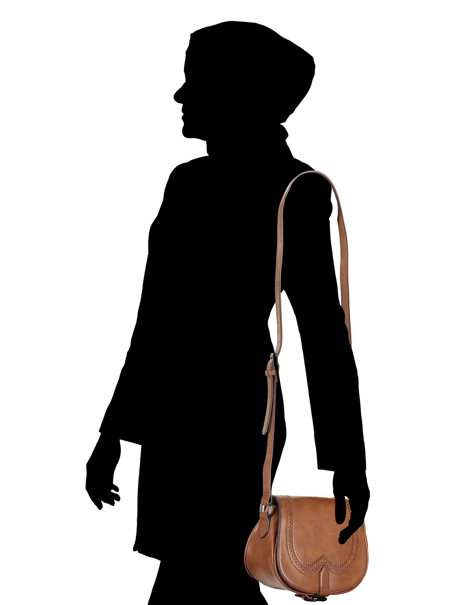 کیف دوشی روزرمره زنانه - باتا - قهوه اي روشن - 8