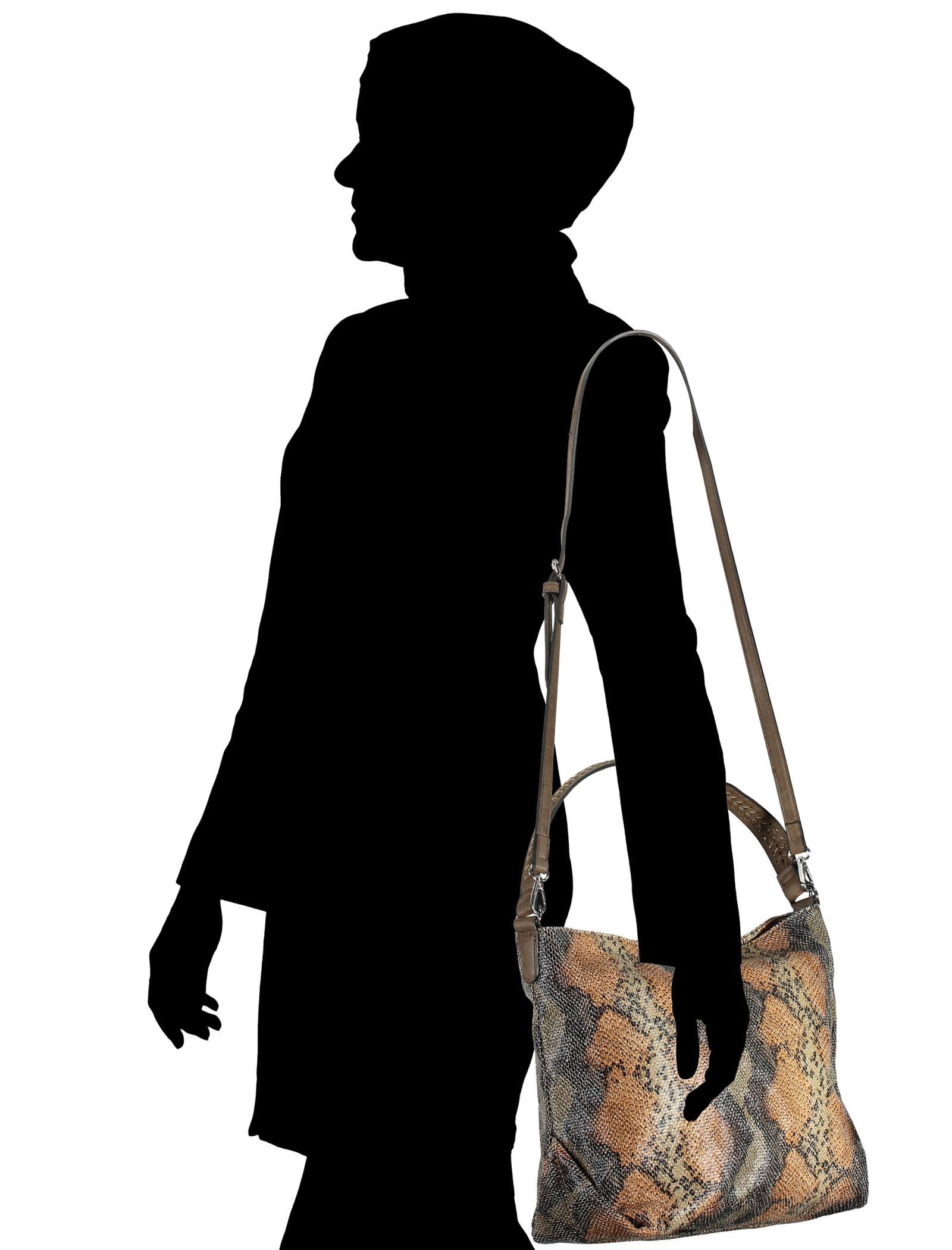 کیف دستی زنانه - پونت روما - قهوه اي - 7