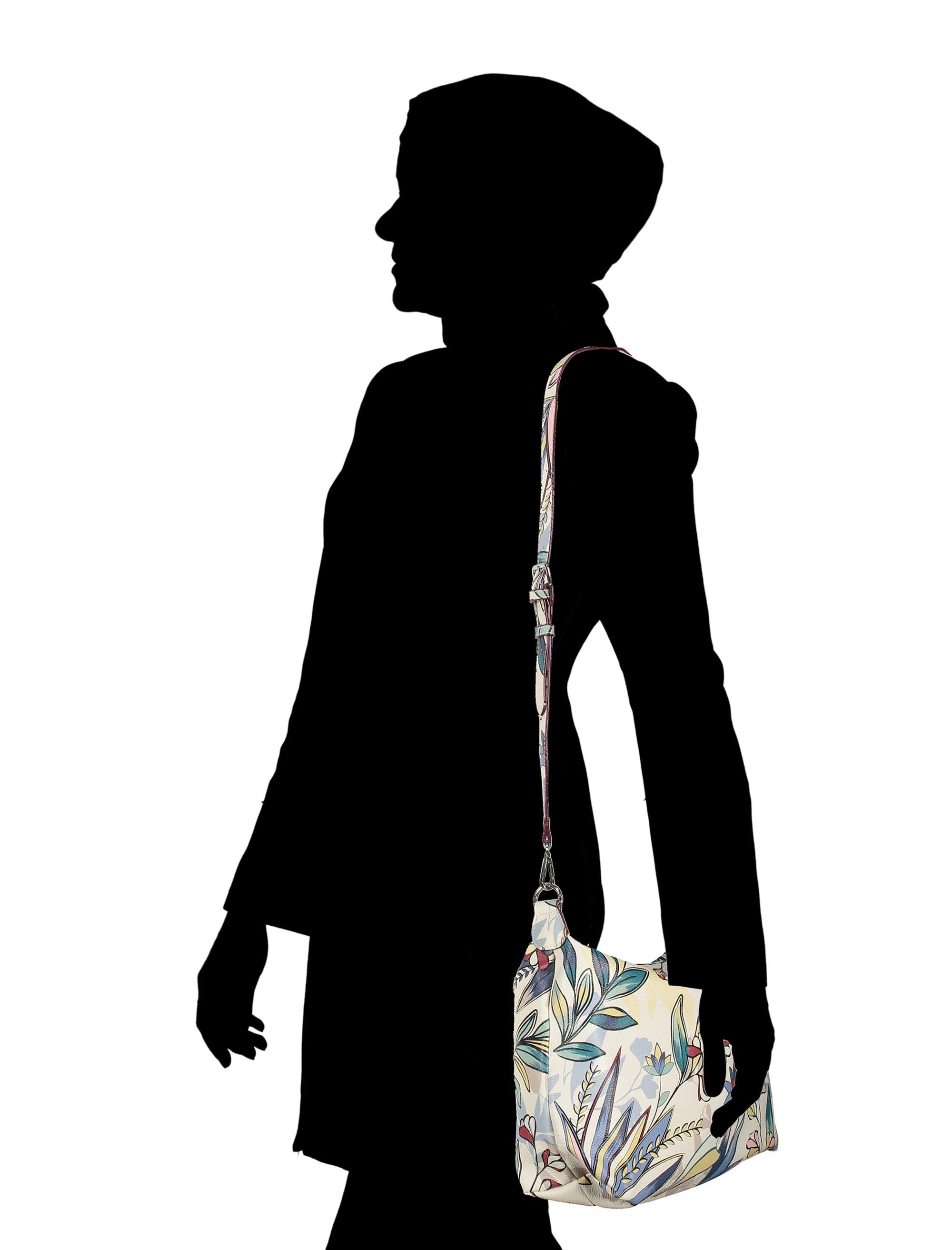کیف دوشی روزمره زنانه - پارفوا - زرشکي - 12