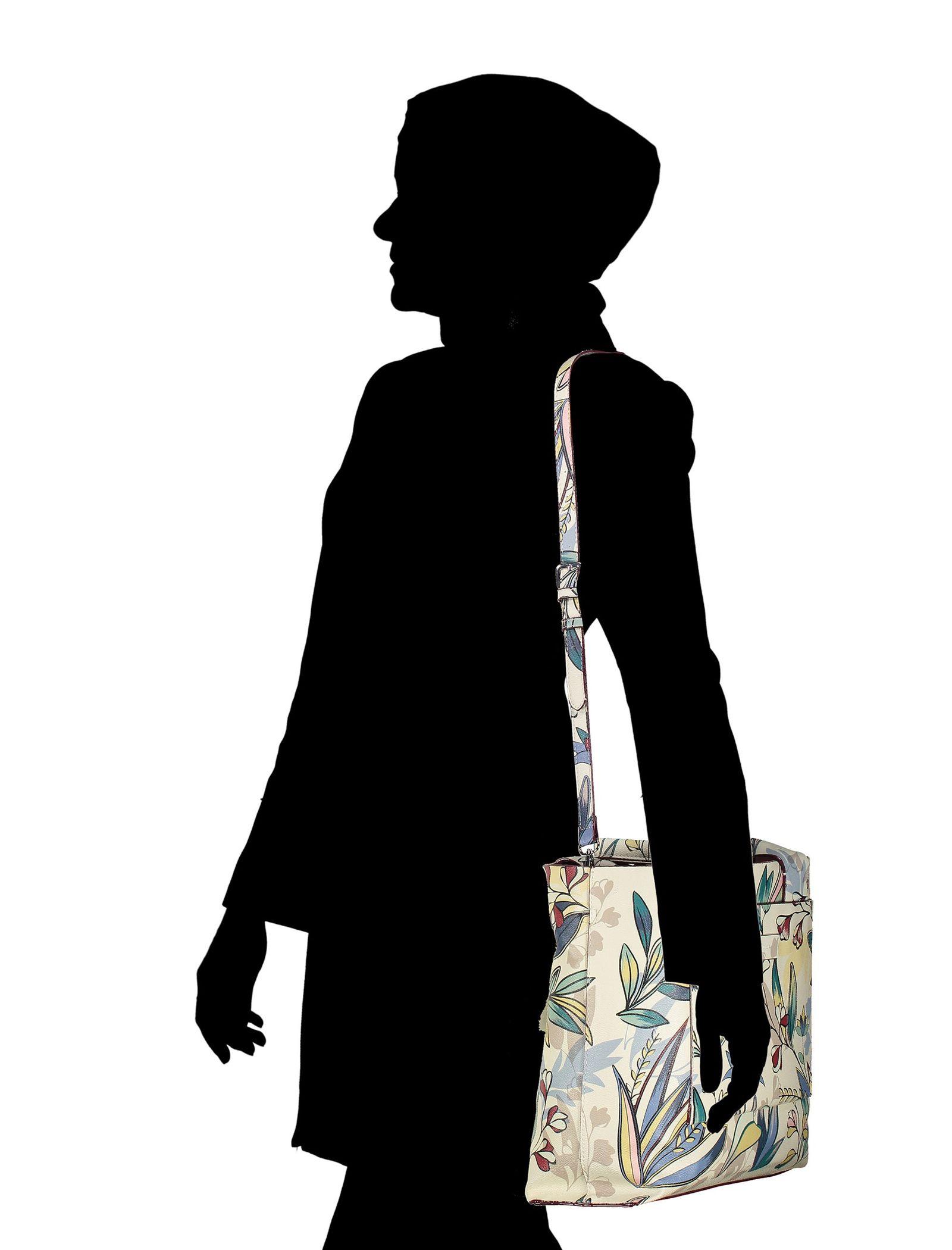 کیف دوشی روزمره زنانه - پارفوا - زرشکي - 13
