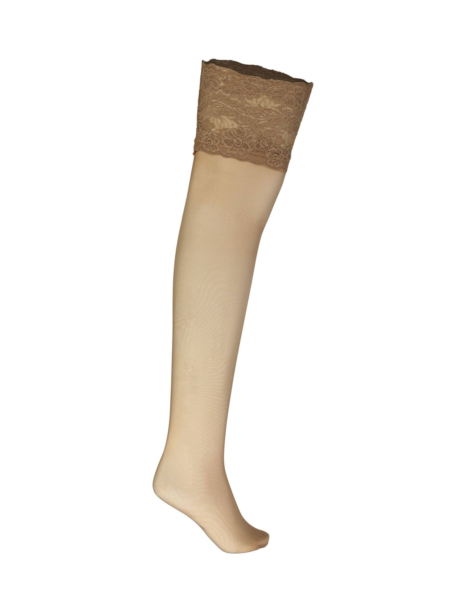 جوراب ساق بلند زنانه - لاوین رز - رنگ پا - 1