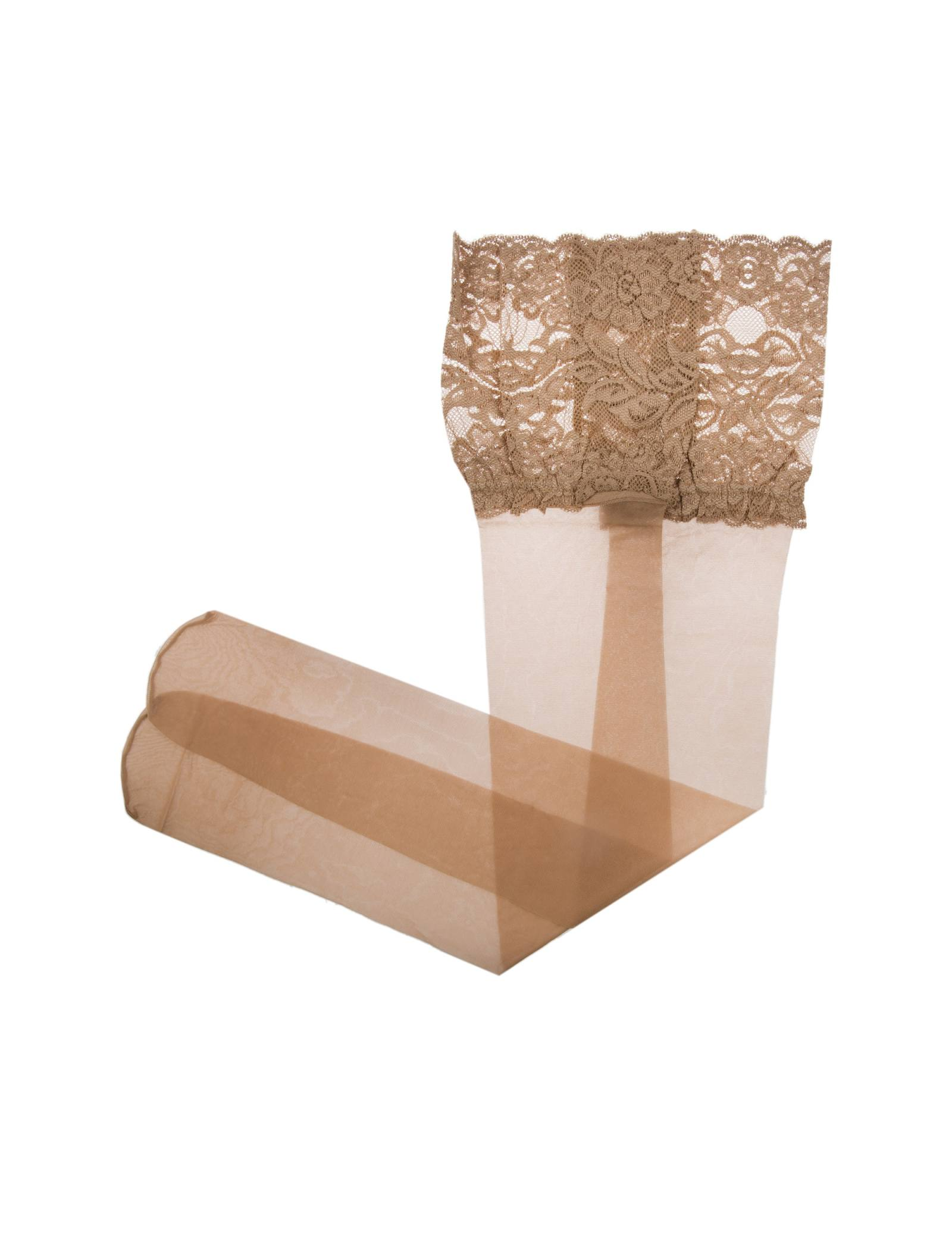 جوراب ساق بلند زنانه - لاوین رز - رنگ پا - 2