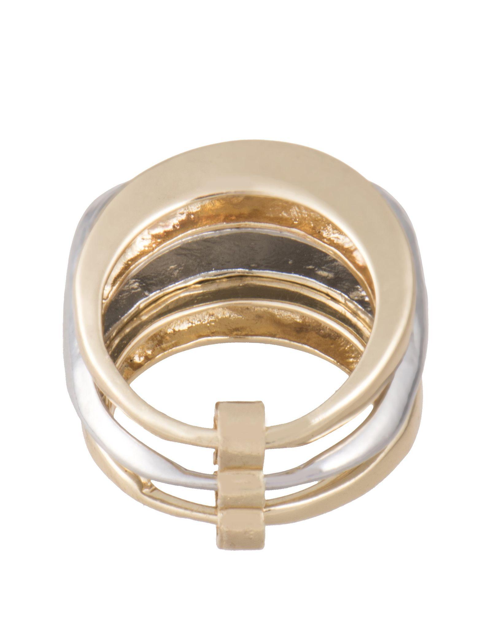 انگشتر زنانه - پارفوا - طلايي - 3