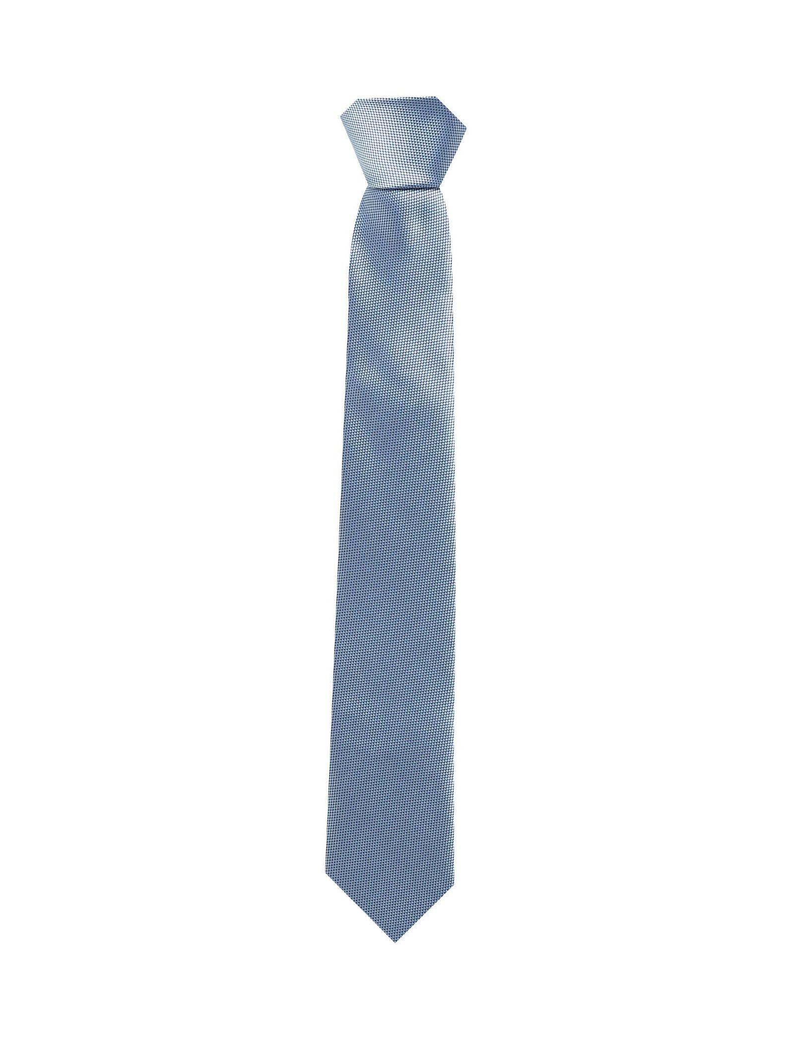 کراوات طرح دار مردانه - رد هرینگ - آبي روشن - 1