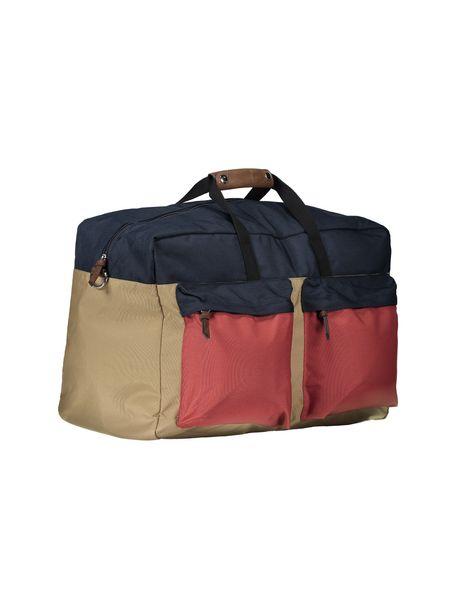 کیف دستی مردانه - سرمه اي - 4