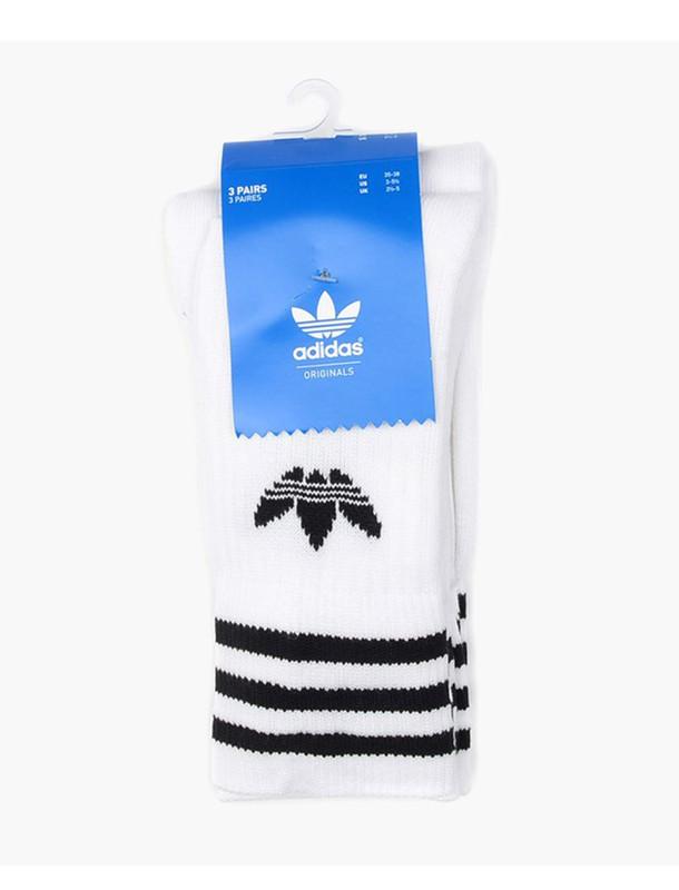 جوراب ساق بلند بسته 3 عددی - آدیداس