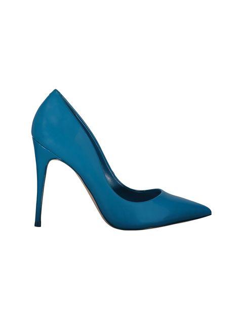 کفش پاشنه بلند زنانه - آبي - 1