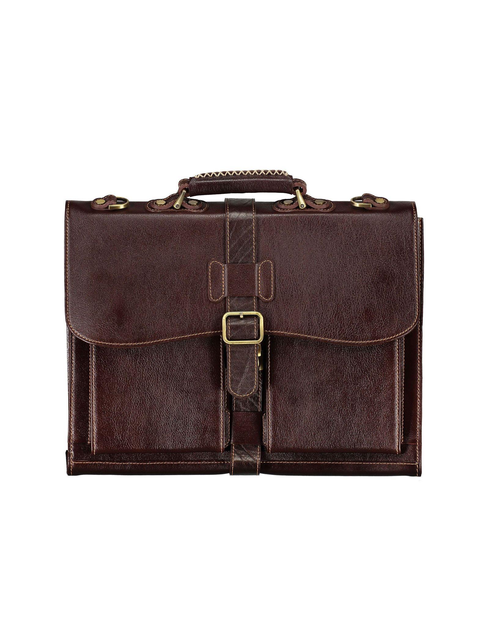 کیف دستی چرم بزرگسال - شهر چرم - قهوه اي  - 1