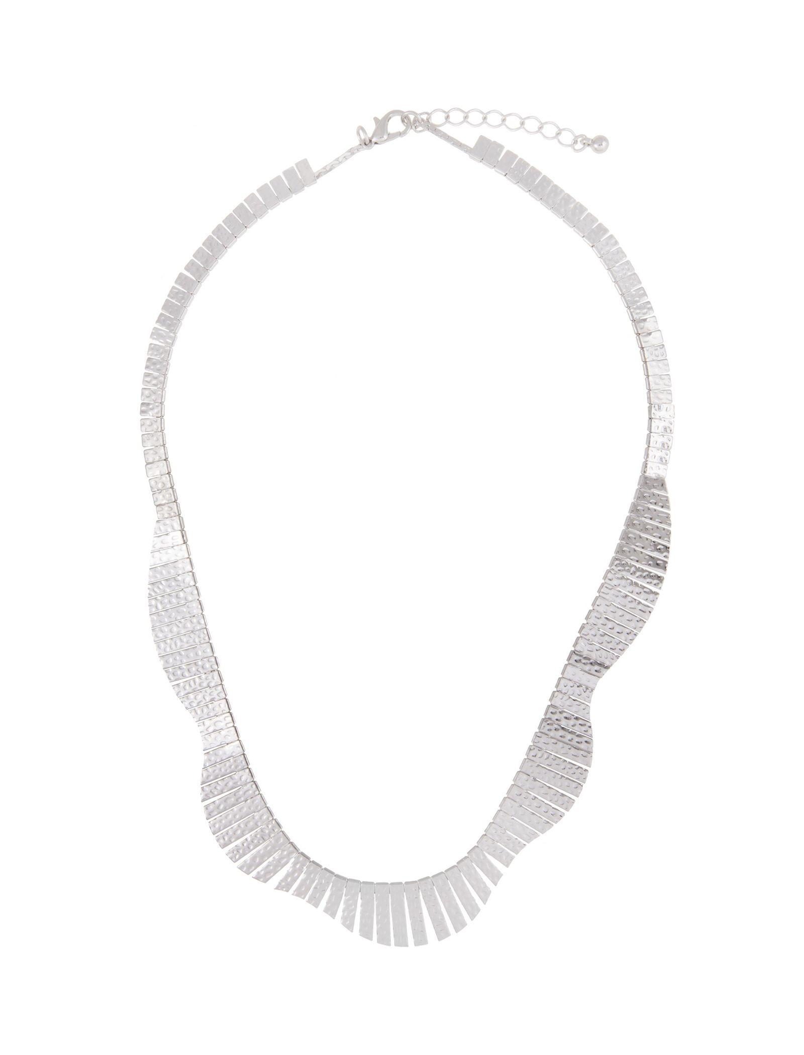 گردنبند زنانه - پارفوا - نقره اي - 1
