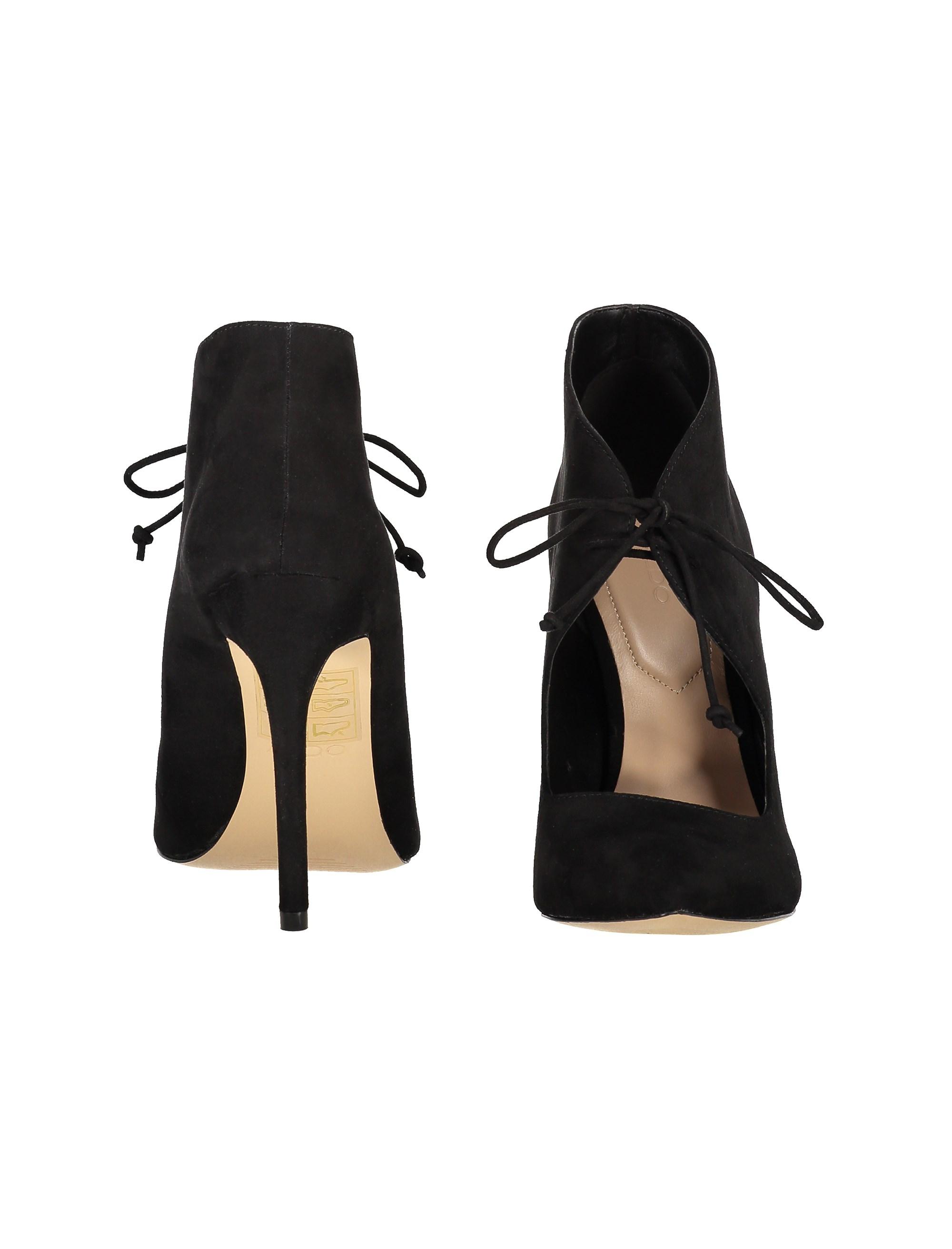 کفش پاشنه بلند زنانه - مشکي - 5