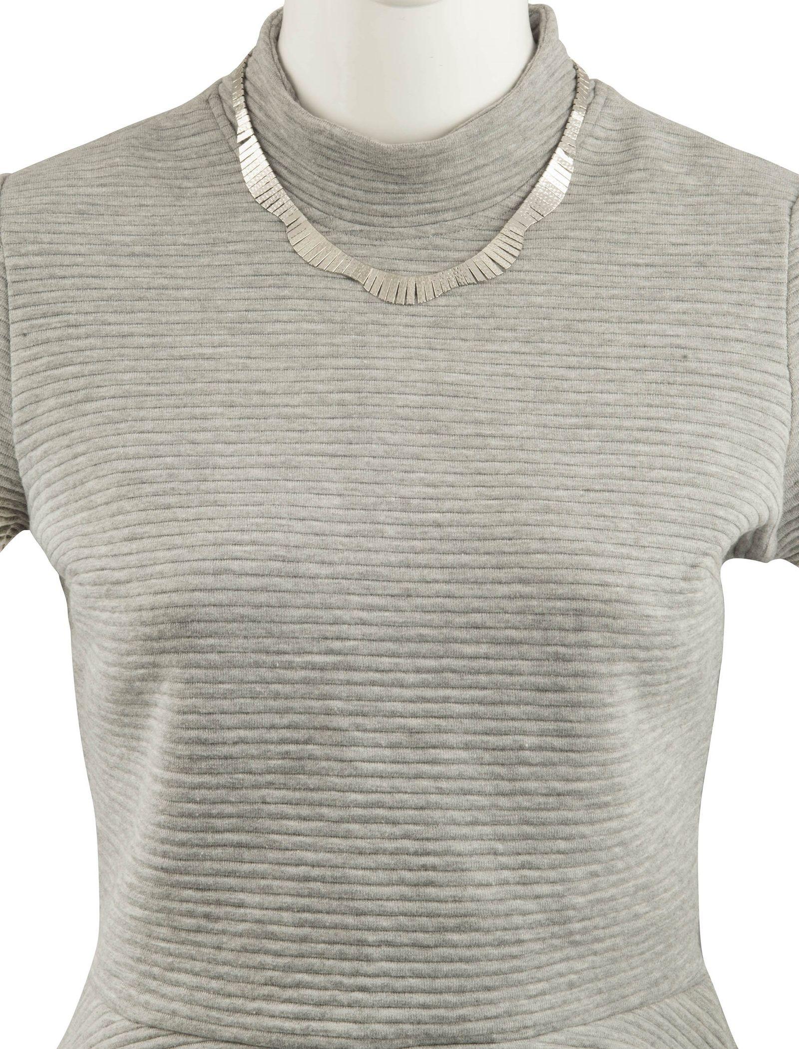 گردنبند زنانه - پارفوا - نقره اي - 4