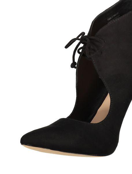 کفش پاشنه بلند زنانه - مشکي - 6