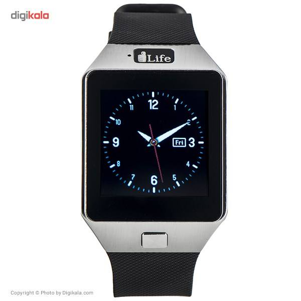 ساعت هوشمند آی لایف مدل Zed Watch C Black main 1 6